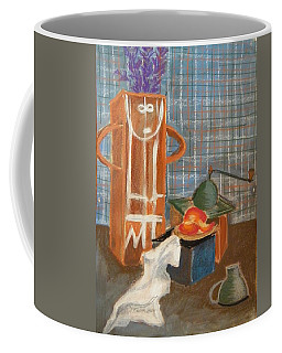 Still Life With Romanian Ceramic Coffee Mug