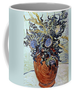 Still Life With Thistles Coffee Mug