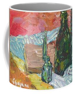 Still Life With Three Bottles Coffee Mug