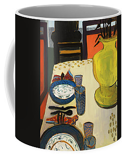 Still Life With Two Plates Coffee Mug