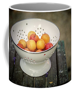 Still Life With Yellow Plums  Coffee Mug