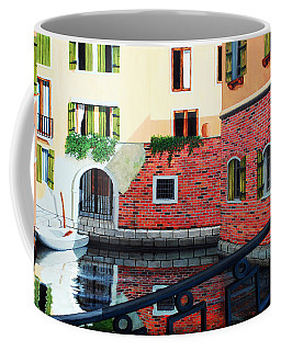 Still, On The Venice Canal, Prints From The Original Oil Painting Coffee Mug
