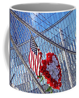 Coffee Mug featuring the photograph Still Remembered  by Sarah Loft