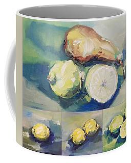 Still With Lemon And Pear Coffee Mug