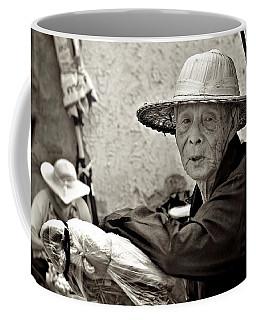 Still Working Coffee Mug by Valerie Rosen