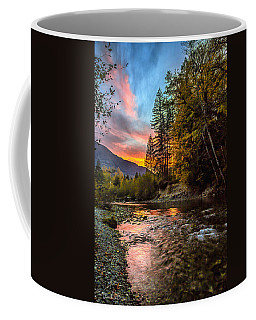 Stillaguamish Sunset Coffee Mug