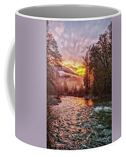 Stilly Sunset Coffee Mug by Charlie Duncan