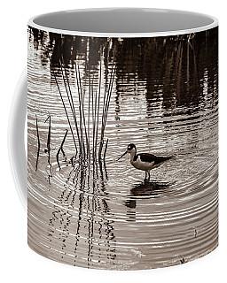 Stilt Wading At Green Cay Wetlands Boynton Beach Florida Coffee Mug