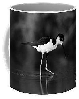 Coffee Mug featuring the photograph Stilt Waterdrops by John F Tsumas