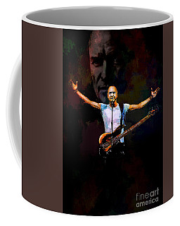 Coffee Mug featuring the digital art Sting 1 by Andrzej Szczerski