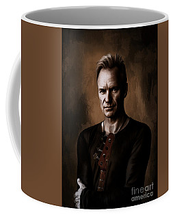 Coffee Mug featuring the digital art Sting by Andrzej Szczerski