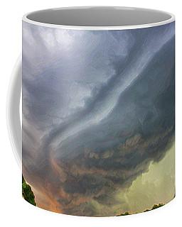 Stirred Up Sunset Coffee Mug