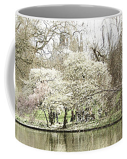 St. James Park London Coffee Mug by Judi Saunders
