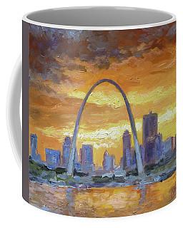 St.louis Arch - Sunset Coffee Mug
