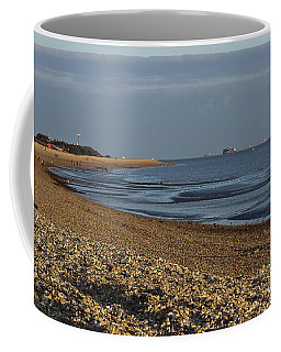 Stokes Bay England Coffee Mug by Terri Waters