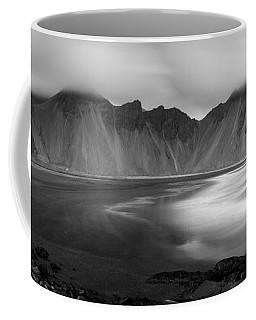 Stokksnes Iceland Bandw Coffee Mug