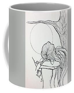 Stone Angel Coffee Mug by Loretta Nash