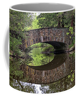 Stone Arch Bridge Over Still Water Coffee Mug