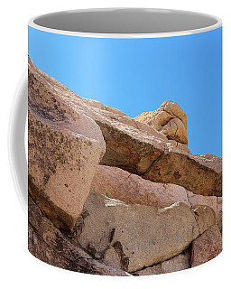 Coffee Mug featuring the photograph Stone  Arch In Joshua Tree by Viktor Savchenko