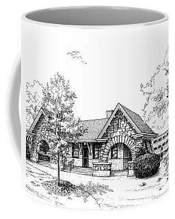 Stone Ave. Train Station Coffee Mug