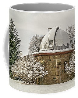 Stone Block Observatory Coffee Mug by Sue Smith