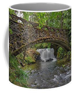 Stone Bridge At Whatcom Falls Park Coffee Mug