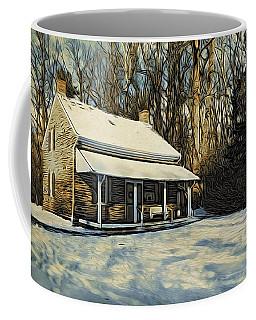 Stony Brook Meeting House Coffee Mug