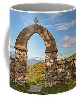Stone Church In Autumn Coffee Mug