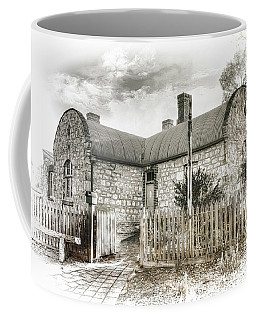 Coffee Mug featuring the photograph Stone Cottage by Wayne Sherriff