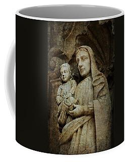 Stone Madonna And Child Coffee Mug