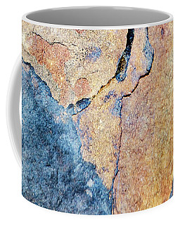 Coffee Mug featuring the photograph Stone Pattern by Christina Rollo