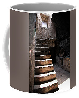Stone Stairs At Santa Catalina Monastery Coffee Mug