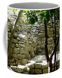Coffee Mug featuring the photograph Stone Steps In The Jungle by Francesca Mackenney