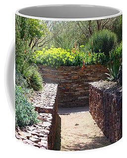 Stone Walkway Coffee Mug by Kathryn Meyer