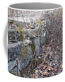Stone Wall At Jackson Lock Coffee Mug