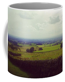 Stone Wall, Beacon Fell, Lancashire, Uk Coffee Mug