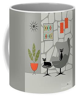 Stone Wall Gray Tones Coffee Mug