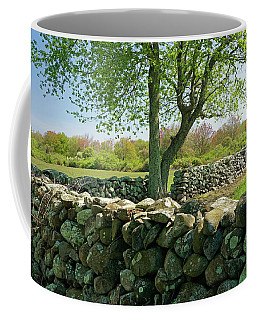 Stone Wall In Rhode Island Coffee Mug
