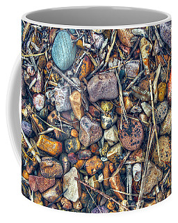 Coffee Mug featuring the photograph Dry Creek by Wayne Sherriff