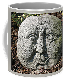 Coffee Mug featuring the photograph Stoneface by Charles Kraus