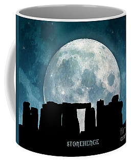 Coffee Mug featuring the digital art Stonehenge by Phil Perkins