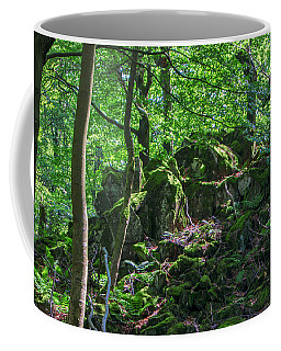 Stones In A Forest In Vogelsberg Coffee Mug