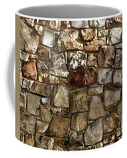 Coffee Mug featuring the digital art Stones by Kevin Middleton