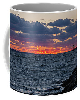 Stonington Point Sunset Coffee Mug