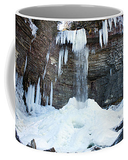Coffee Mug featuring the photograph Stony Kill Falls In February #2 by Jeff Severson