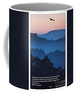 Stood Alone On The Mountain Top Coffee Mug