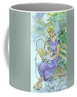 Coffee Mug featuring the painting Stood Up by P J Lewis