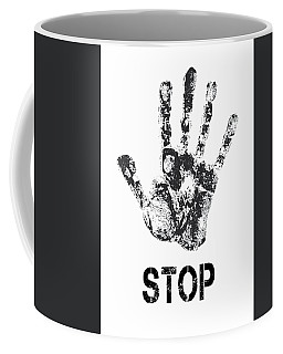 Repulsive Digital Art Coffee Mugs
