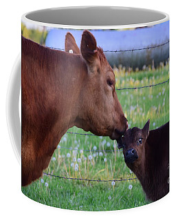 Coffee Mug featuring the photograph Stop It Ma by Mark McReynolds