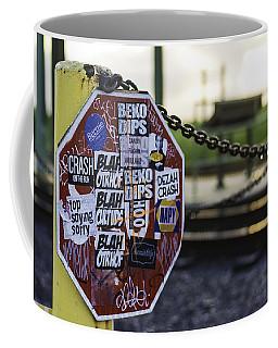 Stop Sign Ala New Orleans, Louisiana Coffee Mug
